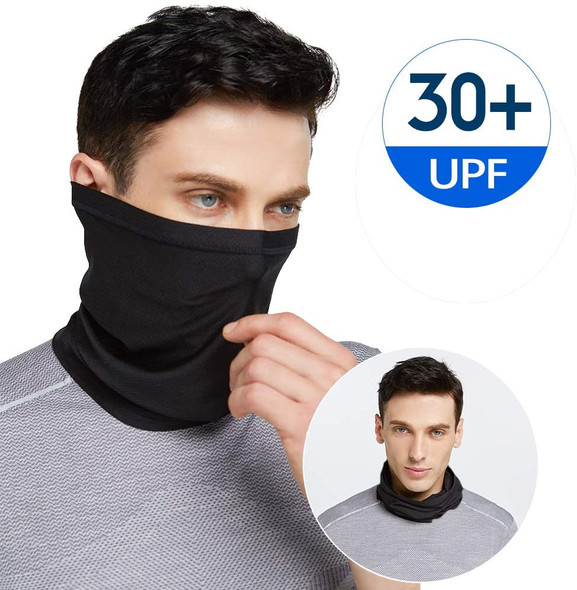 "Performance Activity Mask | Neck Gaiter 12 PACK  18"" L by 10 W"" Large Size Standard"