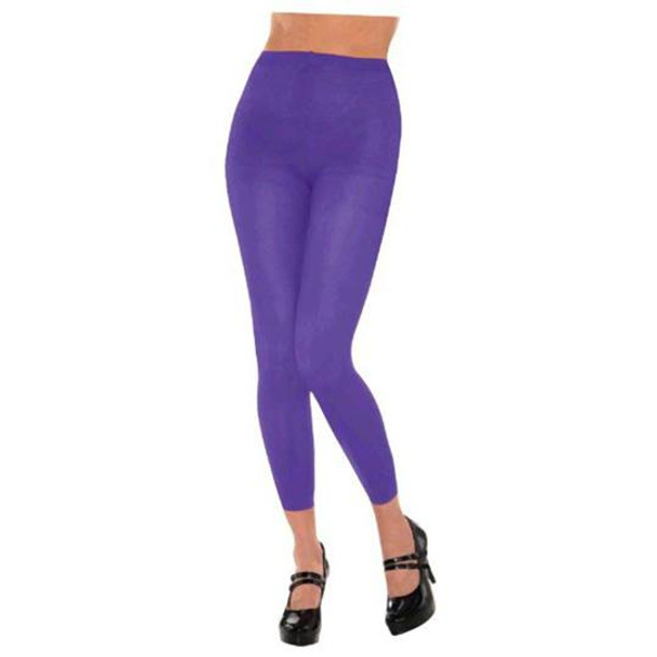 Purple Footless Tights 12 PACK 8097P