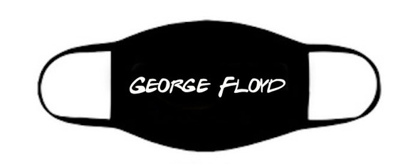 George Floyd Face Mask | George Floyd  Mask | Adult Double Ply Soft Cotton 763GF