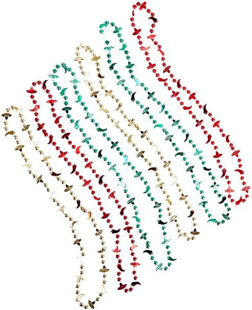 Fiesta Beads Bulk | Multicolor 12 PACK