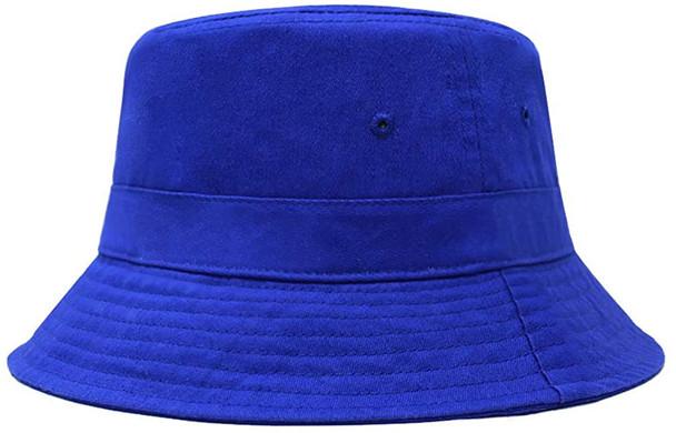 "Fisherman Bucket Hat Royal Blue 22.5"" Standard Adult 5822RB"