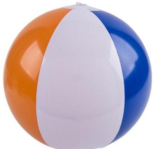 "BEACH BALLS BULK | 16""  LARGE STANDARD SIZE COLORFUL 9045SD 12 PACK"
