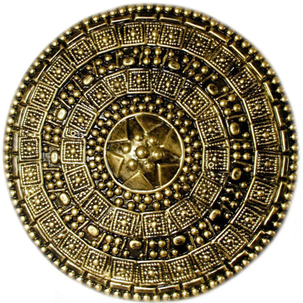 Gold Roman Shield 4507