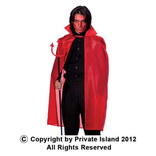"""Red Costume Cape 45"""" 4521"""