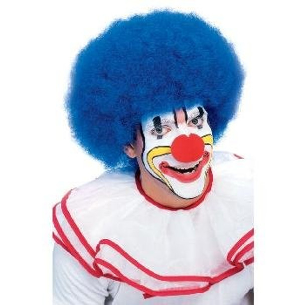 Blue Afro Wig 6017
