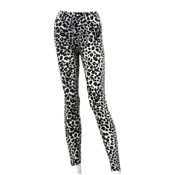 Leopard Print Leggings 8018