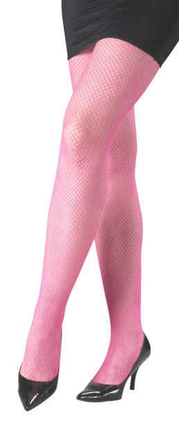 Light Pink Fishnet Pantyhose 8047