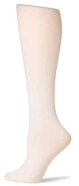 White Opaque Knee Highs 8103