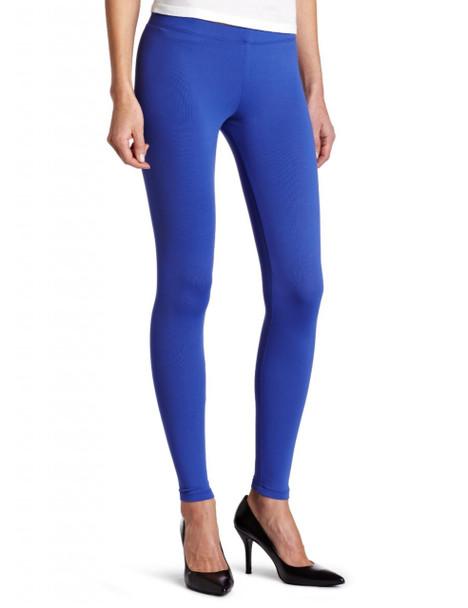 Royal Blue Footless Leggings  8094
