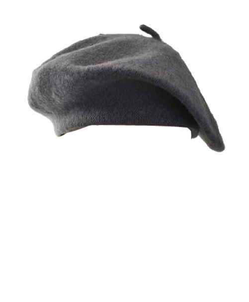 "Grey Beret Wool 22.5"" Standard Adult Size 1366"
