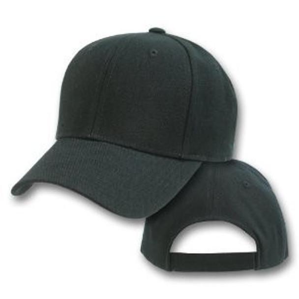 Bulk Dad Hats    Wholesale Baseball Caps    Black Dad Hats   1380