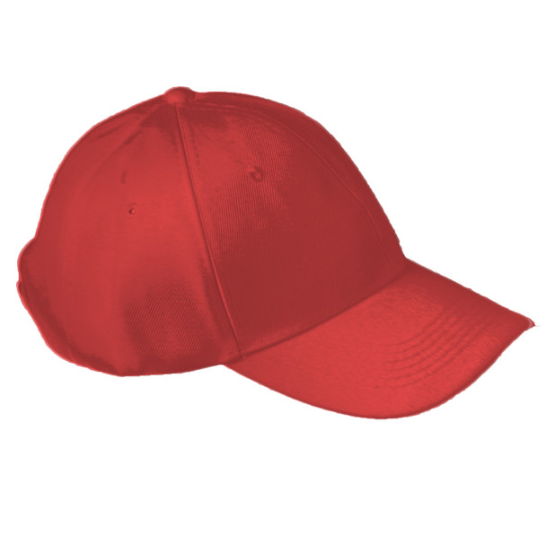 Red Adjustable Baseball Dad Cap 1382