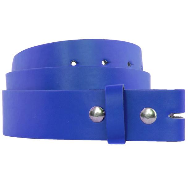 Buckleless Belts Blue |  Adult Mix Sizes 12 PACK 2372A