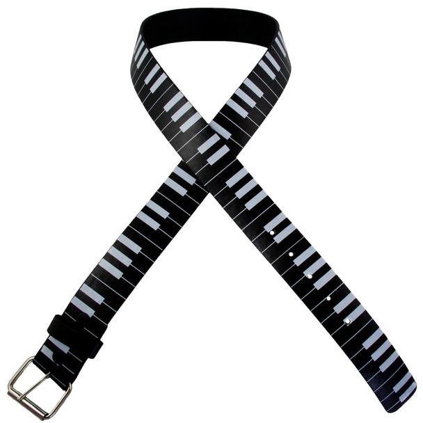 Black Piano Belt ADULT 2404-2407