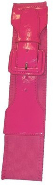 Wild Pink Lauper Style 80's Elastic Frill Belt 2408