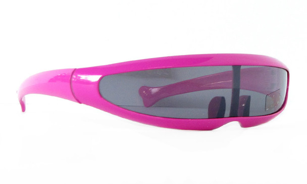 Retro Sunglasses Cyclops Hot Pink 1002