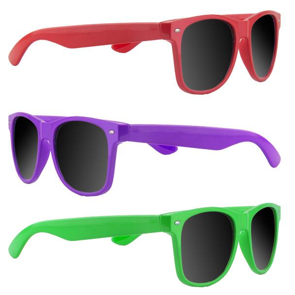 Iconic 80's Sunglasses Bulk | Wholesale 80's Sunglasses | Mix 12 PACK Adult Size 1050