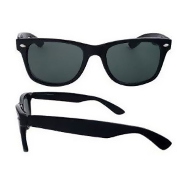 Black Sunglasses |  Iconic 80's Style | Adult Size - Polycarbonate Superior Quality 1051