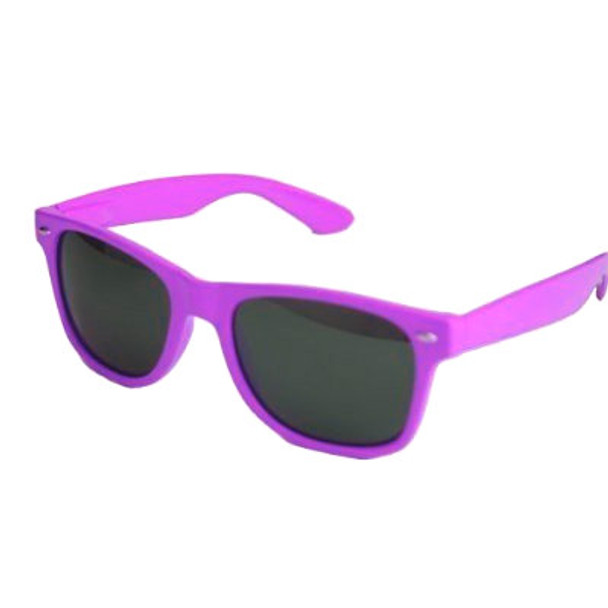 Purple Sunglasses |  Iconic 80's Style | 12 PACK Adult Size 1055