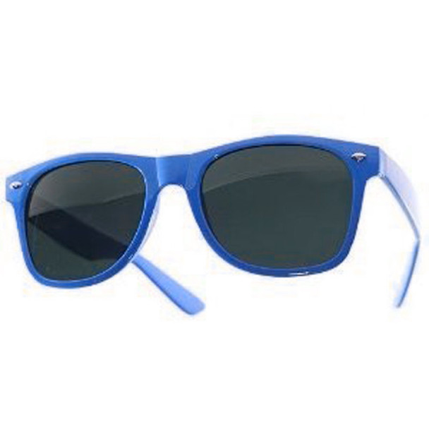 Royal Blue Sunglasses | Iconic 80's Style | 12 PACK  Adult Size 1076