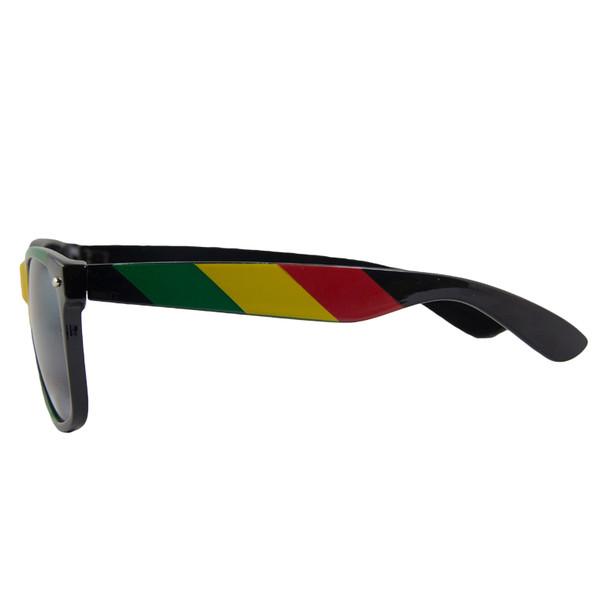 Rasta 80's Style   Iconic Sunglasses   Adult 7150