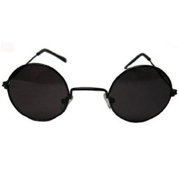 John Lennon Sunglasses Black Frame & Black Lens 1089