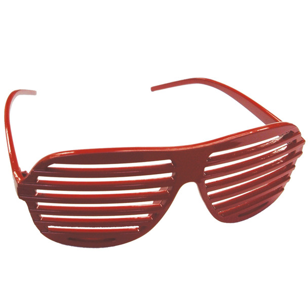 Red Shutter Shades 12 PACK WS1162D