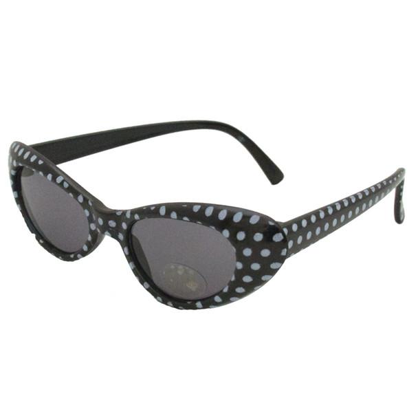 Black Cat Eye Sunglasses |  KIDS SIZE Black Cat Eye Sunglasses Wholesale | 7081
