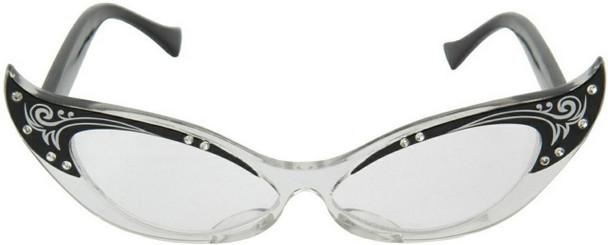 Vintage Cat Eye Retro Glasses 7085