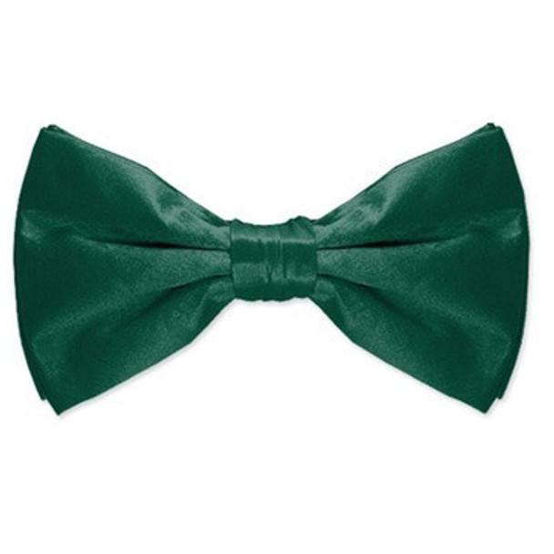 Satin Bow Tie Irish Kelly Green Men's 6839