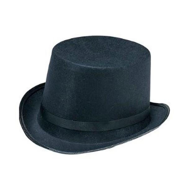 Top Hat Black Felt 12 PACK 1350