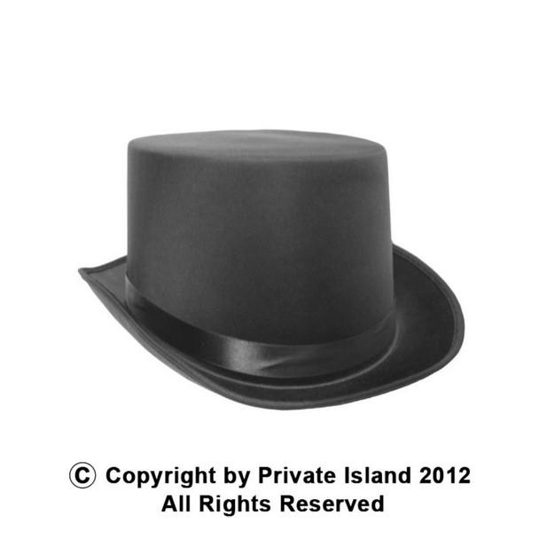 Top Hat Black Deluxe Satin 1352