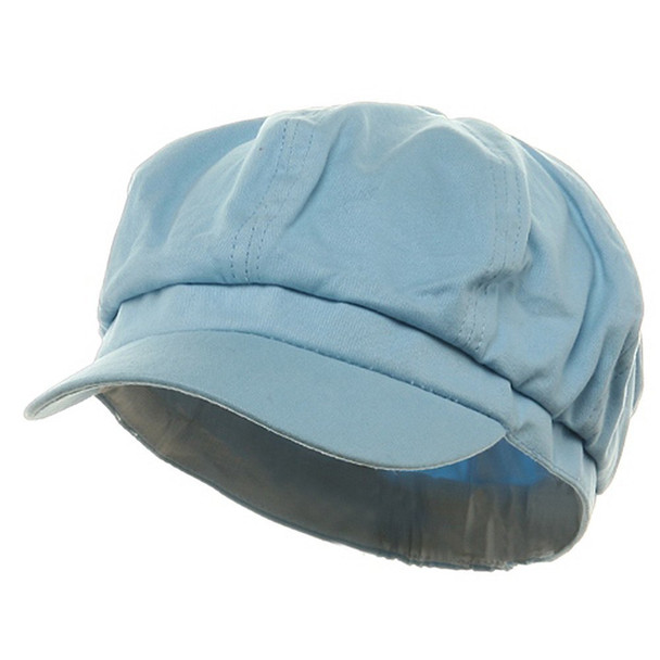 Newsboy Cap Sky Blue  Adult 1406