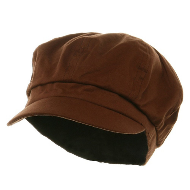 Newsboy Cap Brown Adult 1409