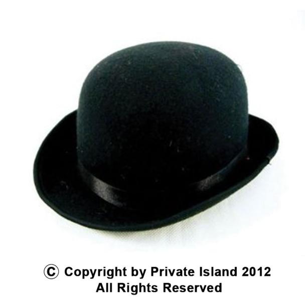 Derby Hat Black Felt 1496