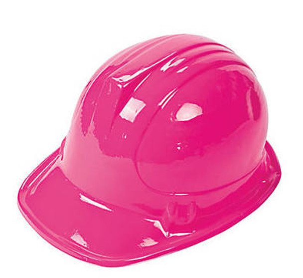 Child Construction Helmet Yellow/Pink Colors 1554