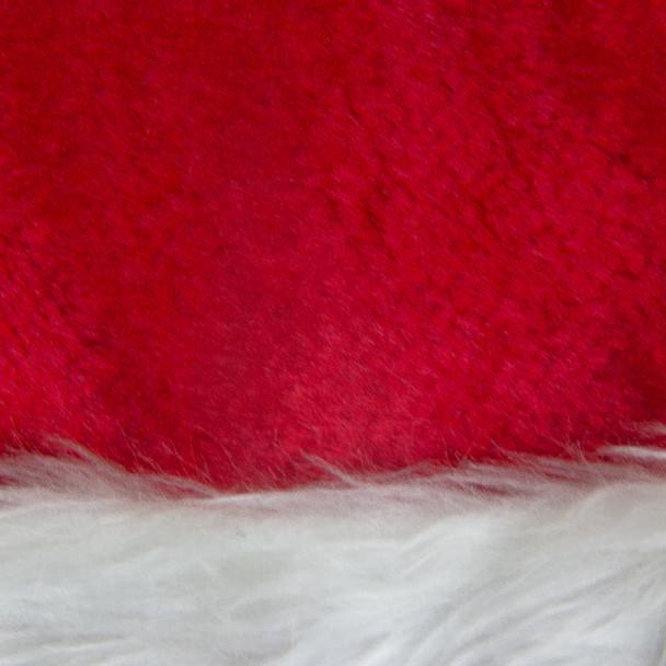 Child Plush Santa Hat Red 1577