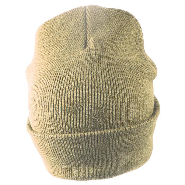 Long Beanie Hat Tan 5753