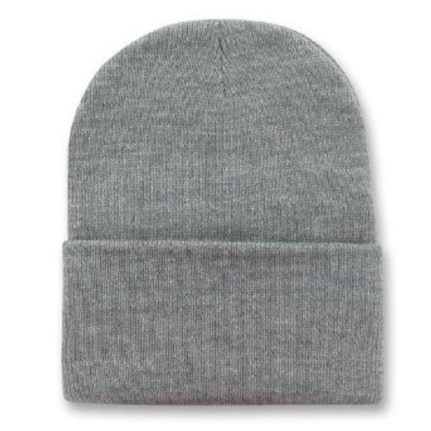 Long Beanie Hat Dark Grey 5755