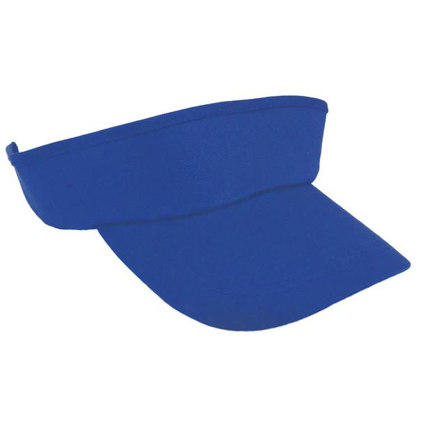 Adjustable Sports Visor Royal Blue 5814