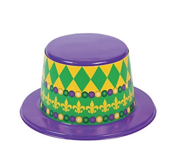 Mardi Gras Top Hats | 12 PACK