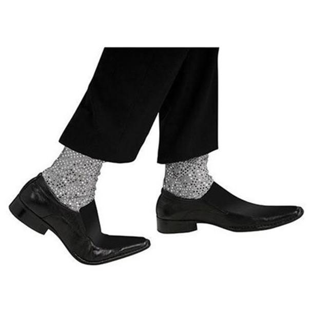 Adult Sequin Glitter Sock 4490