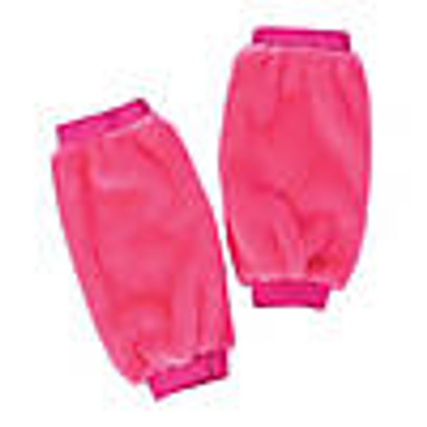 Hot Pink Furry Leg Warmers 6753