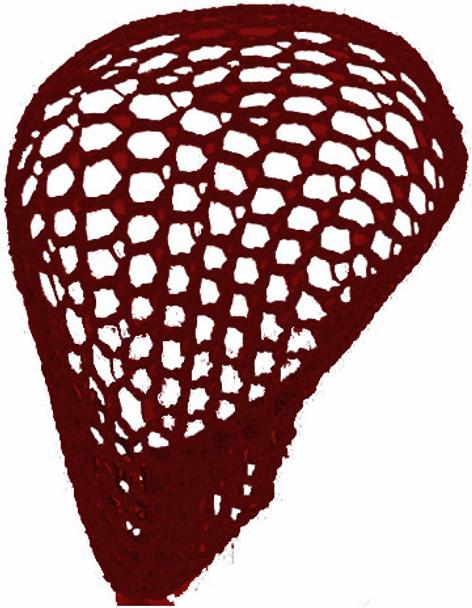12 PACK Burgundy Crochet Hair Snood 6630