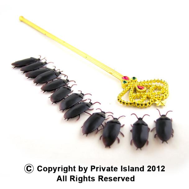 Fake Roaches 12PK 9026