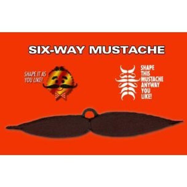 Six Way Adjustable Mustache 1620