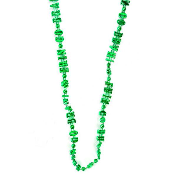 St Patricks Irish Erin Go Braugh Necklace 6559