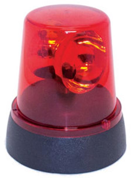 Red Flashing Police Beacon Light 1738