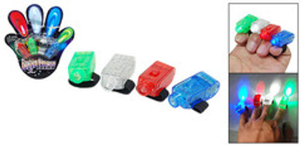 12 PACK Finger Lights Mix Colors 9023