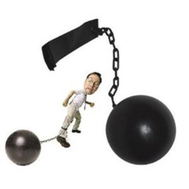 Prisoner/Bondage Costume Ball and Chain 1613